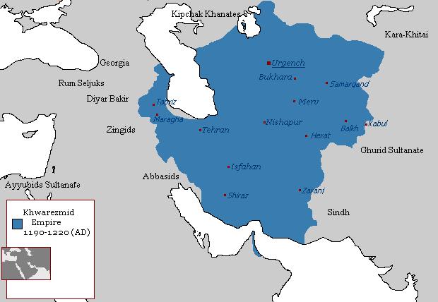 Государство Хорезмшахов (1190-1221)