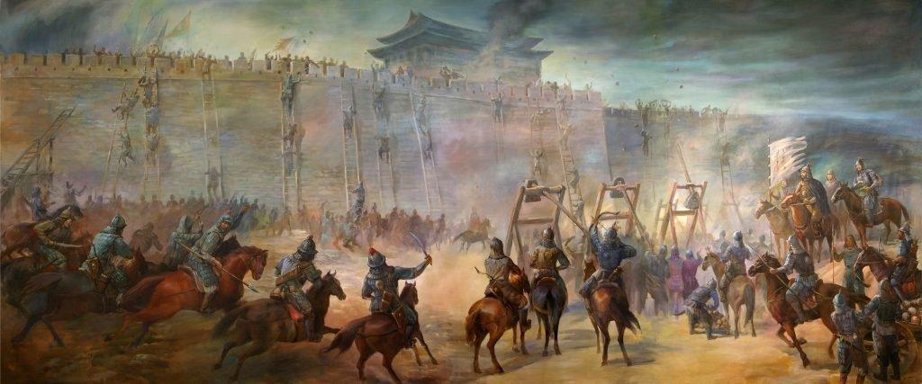 Осада города Татаро-монголами