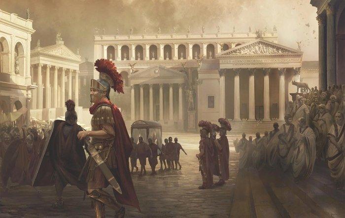 Смотр римской военной разведки
