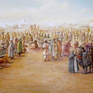Великий шелковый путь: место встречи цивилизаций