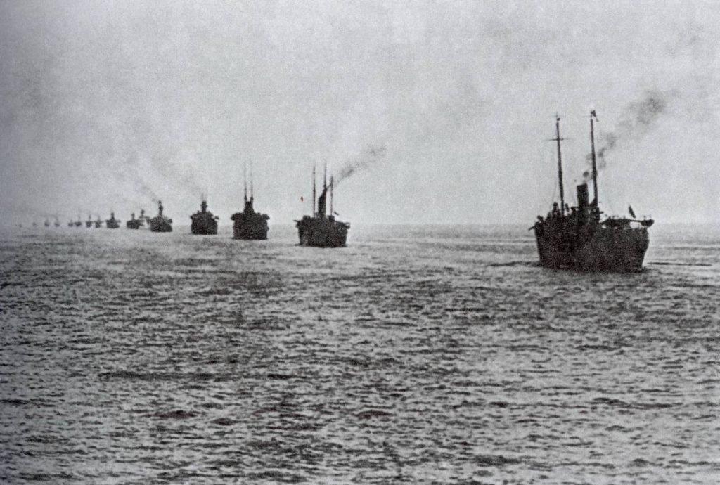 Эвакуация Русской армии из Крыма, ноябрь 1920.
