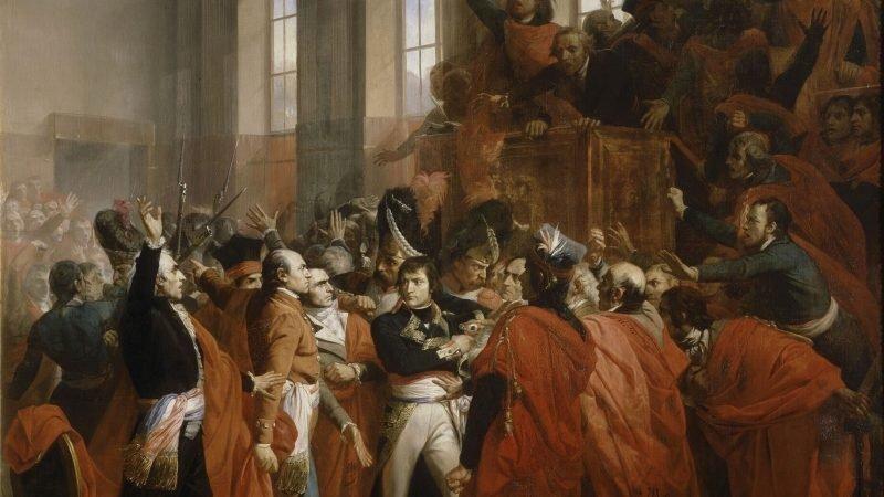 Наполеон Бонапарт и переворот 18 брюмера