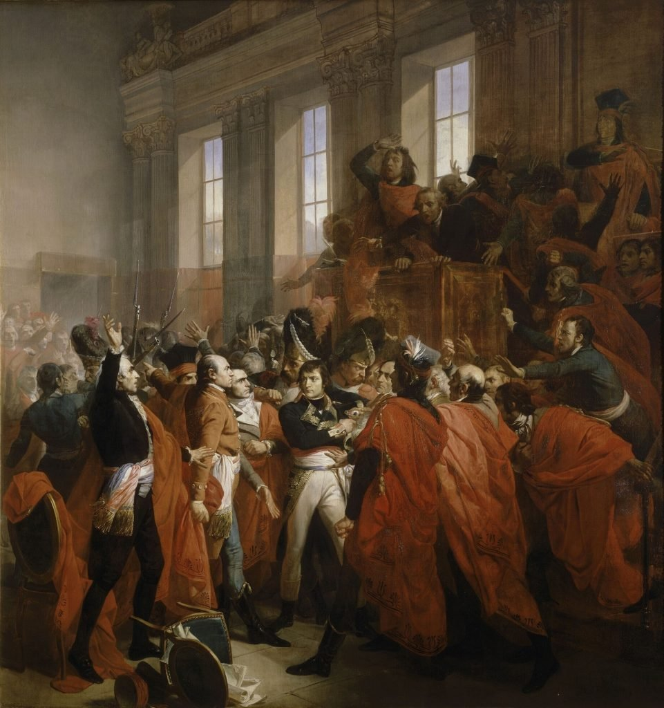 Генерал Бонапарт в Совете пятисот (Бушо, 1840)